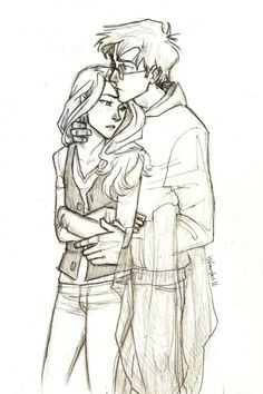 Harry and Ginny so cute