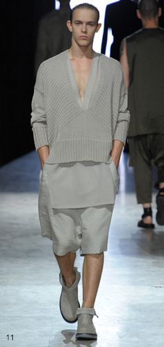 I'm obsessed with Damir Doma. I plan to make this my look all summer.