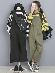 Korea Fashion, Fashion News, Girl Fashion, Fashion Outfits, Pop Fashion, Cute Comfy Outfits, Stylish Outfits, Cool Outfits, Matching Outfits Best Friend