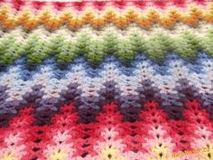 Watch This Video Beauteous Finished Make Crochet Look Like Knitting (the Waistcoat Stitch) Ideas. Amazing Make Crochet Look Like Knitting (the Waistcoat Stitch) Ideas. Crochet Afghans, Crochet Ripple, Crochet Borders, Crochet Stitches Patterns, Love Crochet, Irish Crochet, Crochet Hooks, Stitch Patterns, Knit Crochet