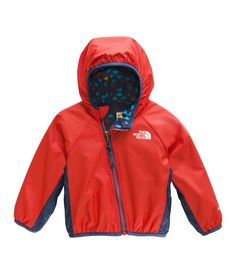 The North Face Infant Reversible Breezeway Jacket, Fiery Red, >>> Click image to evaluate even more details. (This is an affiliate link). The North Face, North Face Kids, Baby Girl Jackets, Fiery Red, Baby Shower Gifts, Adidas Jacket, Hooded Jacket, Rain Jacket, Windbreaker