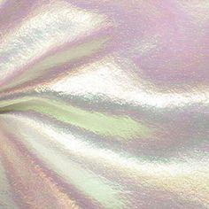 Iridescent White Fabric Opal iridescent sheer - cloth