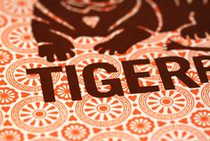 chinese new year series: year of the tiger (detail)