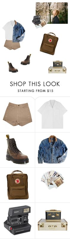 """""""Exploring with Namjoon"""" by vvangoth ❤ liked on Polyvore featuring American Apparel, Dr. Martens, Carhartt, Fjällräven, Chronicle Books, Polaroid, date, kpop, bts and rapmonster"""