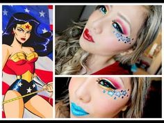 Wonder Woman Inspired Makeup Tutorial