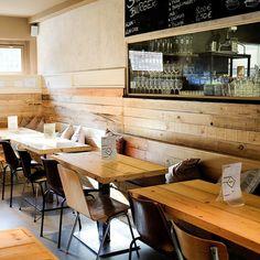 Außergewöhnliche Burger bei Shiso Burger in schickem Interieur| creme berlin
