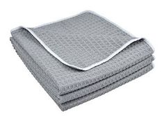 380gsm Thick Microfiber Waffle Weave Kitchen Towels Dish Drying Towels Dish Cloths - Visit to see more options