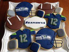 Seahawk cookies