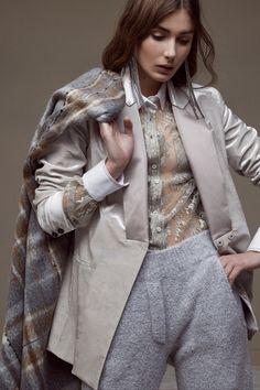 Brunello Cucinelli #VogueRussia #readytowear #rtw #fallwinter2018 #BrunelloCucinelli #VogueCollections