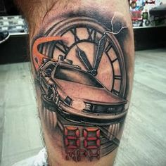 """Community Post: 24 """"Back To The Future"""" Tattoos That Will Blow Your Mind"""