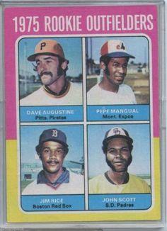 1975 Topps Jim Rice Baseball Card for sale online Baseball Pitching, Baseball Star, Baseball Training, Baseball Socks, Jim Rice, Baseball Classic, Red Sox Nation, Baseball Cards For Sale, Baseball Pictures