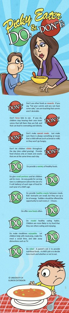 tips for parents of picky eaters // For more family resources visit…