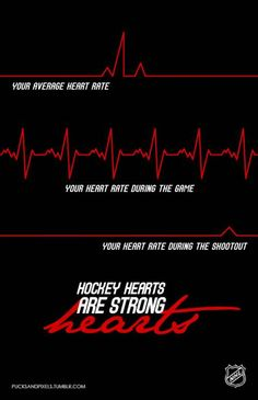 hockey hearts are strong hearts