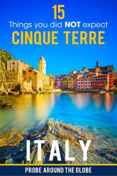 Everyone heard about Cinque Terre in Italy. But here are 15 tongue-in-cheek things that nobody tells you about travel to Cinque Terre. From where to park your car to if you can bring a wheelie suitcase, here are my surprising tips! Read them all in my personal story about #cinqueterre #italy #travelitaly