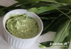 vegane Bärlauch-Butter - klassisch und für Thermomix