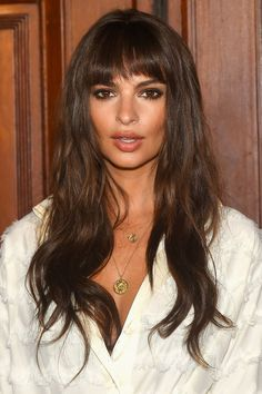Emily Ratajkowski has teased a fringe before, but it turned out to be a wig - we wonder if this one is for keeps? Either way, it looks pretty amazing.
