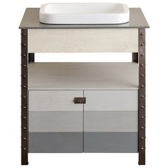 "Brockston 30"" Vanity Set with Quartz Top"