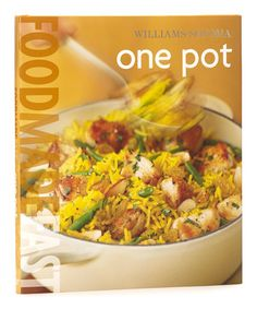 Take a look at this Food Made Fast: One Pot Hardcover by Williams-Sonoma on #zulily today!