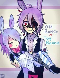 (open rp I'm Bonnie) 'Oh god.' - keeps Toy Bonnie still in arms and holds her close - Five Nights At Freddy's, Fnaf 1, Anime Fnaf, Foxy And Mangle, Pole Bear, Sheila, Fnaf Sister Location, Fnaf Characters, Fnaf Drawings