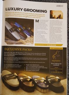 Eqclusive Packs are featured in every magazine now!  Do you have any before and after photos? Make us happy today!  Get them on http://www.eqclusive.com/collections/eqclusive or at your local tack shop!