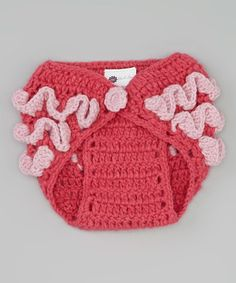 Another great find on #zulily! Hot Pink Ruffle Diaper Cover - Infant by Marili Jean #zulilyfinds