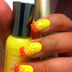 Microbead nails!