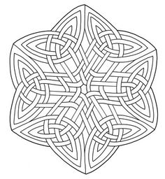 Celtic Knotwork coloring page from Celtic Art category. Select from 24104 printable crafts of cartoons, nature, animals, Bible and many more.
