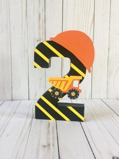 Construction Birthday Party Dump Truck Construction Party Theme Construction Party construction signs First birthday decor Age number Birthday Party Places, 3rd Birthday Parties, Birthday Party Decorations, Boy Birthday, Birthday Ideas, Birthday Pictures, Cake Birthday, Birthday Gifts, Construction Birthday Parties