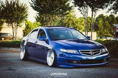 #acura #camber #cambergang #slammed #stance #dreamcars #blue #tsx #awesome