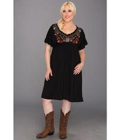 Roper Plus Size 8686 Poly Rayon Jersey Dress  it must be the Peasant in me!