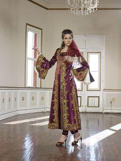kına-için-bindallılar (7) Traditional Outfits, Kaftan, Hijab Fashion, Kimono Top, Sari, Tops, Women, Ottoman, Traditional Clothes