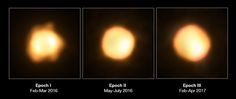 VLTI Revisits the Largest Yellow Hypergiant Ever Discovered   It may not look like much, but this blob shows a remarkable star named V766 Centauri (V766 Cen for short) and its close companion. More information: https://www.eso.org/public/images/potw1740a/ Credit: ESO/M. Wittkowski (ESO)