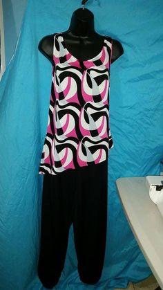 Double Knit pant & bluse set!!