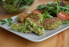 Brokkolifasírt pirított magvakkal Sprouts, Ham, Food And Drink, Diet, Vegetables, Hams, Vegetable Recipes, Banting, Diets