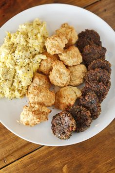 The Chubby Vegetarian: Vegan Breakfast Sausage.  This vegan sausage is the best!  Everyone in my family loves it even the meat eaters.  In an unusual twist, I actually make this recipe exactly as it is described and I would not change a thing!  Oh yes, I did change something.  The second time I made this I left out the cloves as they seemed a bit overpowering.  They were fantastic without them.