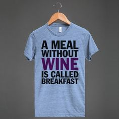 Not every time is the right time to enjoy alcoholic beverages. | 21 T-Shirts That Perfectly Express How You Feel About Alcohol