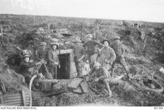 British dugout on the Messines Ridge.