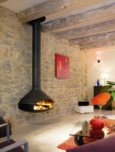 So tempting in the living room... Contemporary Fireplaces