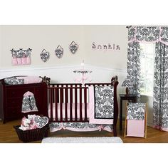 Sweet Jojo Designs Sophia Collection 11-Piece Crib Bedding Set - Sweet Jojo Designs - Babies R Us