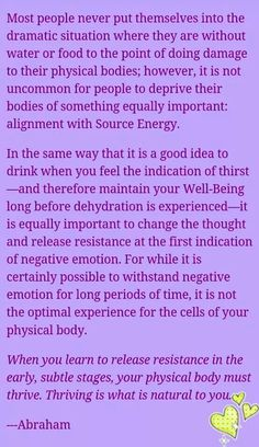 """...change the thought and release resistance at the first indication of negative emotion. Brilliant!! - Abraham❤️☀️"