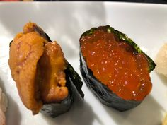 Sushi, yes anytime f