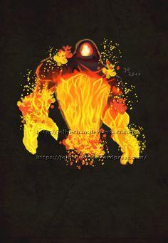 Fire Elemental from World of Warcraft by Jolin-chan.deviantart.com on @DeviantArt