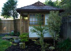 Japanese Tea House shed