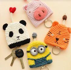 Key holder. Crochet Llavero.