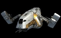 ArtStation - Preying Mantis Patrol Ship, Ansel Hsiao