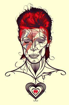 Next Tattoo Modern Aladdin Sane By Gui Soares  Ground Control To