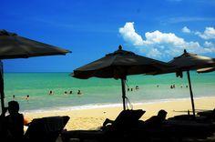 Beach Front at Le Meridien Khao Lak Beach & Spa, Pak Week Beach, Khao Lak, Phang Nga, Thailand Khao Lak Beach, Ao Nang Beach, Railay Beach, Beach Hotels, Hotels And Resorts, Lamai Beach, Koh Chang, Beach Bungalows, Destin Beach