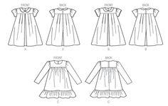 Little Vogue sewing pattern V9042 Childrens by VeronicasVenture