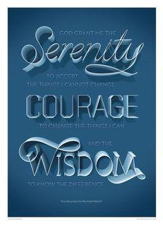 The Serenity Prayer, by Reinhold Niebuhr. Inspirational Prayers, Inspirational Wall Art, Anton, Reinhold Niebuhr, Prayer Poems, Police, Prayers For Strength, Serenity Prayer, Typographic Poster