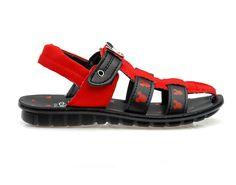 1c72e80e1318 Buy Mickey Mouse Red   Black Boys Sandals   Best Price In India Black Boys